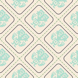 Seamless pattern with American Indians art and ethnic ornaments Stock Images