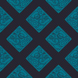 Seamless pattern with American Indians art and ethnic ornaments Stock Image