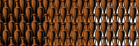 Seamless pattern with amphora Royalty Free Stock Image