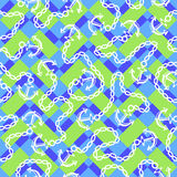 Seamless pattern with anchors. Ongoing backgrounds of marine theme. Royalty Free Stock Photography