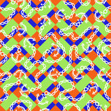 Seamless pattern with anchors. Ongoing backgrounds of marine theme. Stock Photos