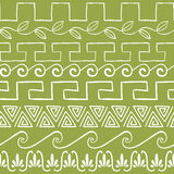 Seamless pattern with ancient greek ornaments Royalty Free Stock Photography