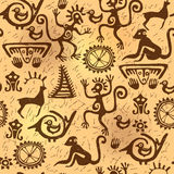 Seamless pattern ancient old Royalty Free Stock Photos