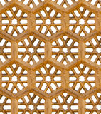 Seamless pattern. Ancient traditional ornament - brown sandstone Royalty Free Stock Photography