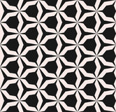 Seamless pattern with angular figures, triangular grid. Geometric monochrome texture, vector seamless pattern with simple shapes, angular figures, triangular Royalty Free Stock Image