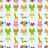 Seamless pattern animal Royalty Free Stock Photography