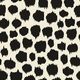 Seamless pattern with animal prints. Color leopard Stock Images