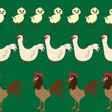 Seamless pattern with animals Stock Photo