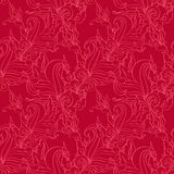 Seamless pattern. Antique ornament. Royalty Free Stock Photos