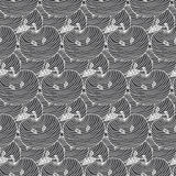 Seamless pattern of apples.  illustration background Royalty Free Stock Photography