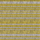 Seamless pattern with aqua blue knitted stripes Stock Image