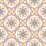 Seamless pattern with arabian ornament Stock Photography