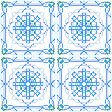 Seamless pattern with arabian ornament Royalty Free Stock Photos