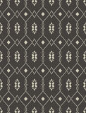 Seamless pattern in arabic style Royalty Free Stock Photo