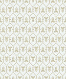 Seamless pattern in arabic style Stock Photos