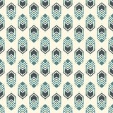 Seamless pattern with arrow fletching. Repeated chevrons wallpaper. Tribal and ethnic motif. Native americans ornament. Al abstract background. Boho chic digital Stock Images