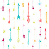 Seamless pattern with arrows Stock Photos
