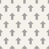Seamless pattern with arrows motif. Minimalist abstract backgrou. Seamless pattern with arrows motif. Arrows made of dots. Minimalist abstract background. Simple stock illustration