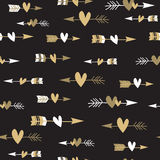 Seamless pattern with arrows Stock Image