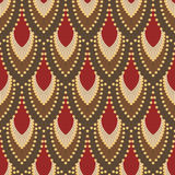 Seamless pattern in Art Deco style 5. Colorful vector illustration. Seamless patterns Royalty Free Stock Image