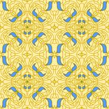 Seamless pattern Art Nouveau Royalty Free Stock Photo