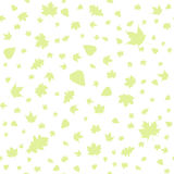 Seamless pattern of autumn leaves Royalty Free Stock Image