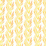Seamless pattern with autumn leaves Royalty Free Stock Photography