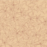 Seamless pattern from autumn maple leaves Royalty Free Stock Photos