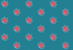 Seamless pattern with autumn maple leaves. Vector illustration. Autumn background Royalty Free Stock Images