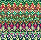 Seamless pattern in aztec style Royalty Free Stock Photos