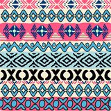 Seamless pattern in aztec style Royalty Free Stock Image