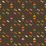 Seamless pattern background alcoholic beverages. The colorful drinks on a dark background vector Royalty Free Stock Image
