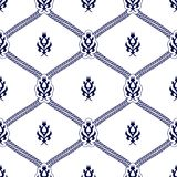 Seamless pattern background in Arabian style. Geometric textures. Vector illustration Stock Photo