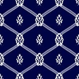 Seamless pattern background in Arabian style. Geometric textures. Vector illustration Royalty Free Stock Photos