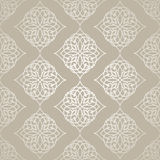 Seamless pattern background in Arabian style. Geometric textures. Vector illustration Stock Photos