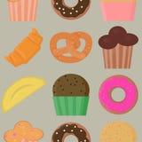 Seamless pattern background bake. Vector. Seamless pattern background bake. Vector Stock Photography