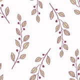 Seamless pattern background with branch Royalty Free Stock Photo