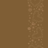 Seamless pattern background brown. Brown card for the holiday.  Stock Image