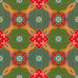 Seamless pattern background, Christmas gift wrapping paper Royalty Free Stock Photography