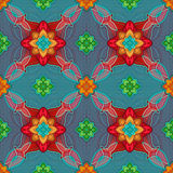 Seamless pattern background, Christmas gift wrapping paper Stock Photo