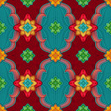Seamless pattern background, Christmas gift wrapping paper Stock Photos