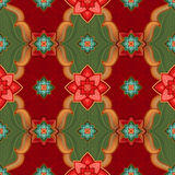 Seamless pattern background, Christmas gift wrapping paper Stock Image