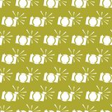 Seamless  pattern on the background of the color gold lime Royalty Free Stock Photo