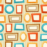 Seamless pattern background with color various Royalty Free Stock Photography