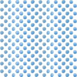 Seamless  pattern or background with colorful dots. Royalty Free Stock Photo