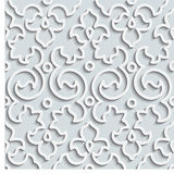 Seamless Pattern Background. Curl Decoration Royalty Free Stock Photography
