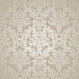 Seamless Pattern Background.Damask Wallpaper. Stock Image