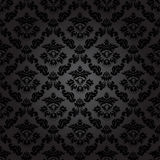 Seamless pattern background.Damask wallpaper. Vector illustration Royalty Free Stock Photography