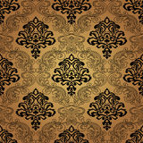 Seamless pattern background.Damask wallpaper. Seamless pattern background. Damask wallpaper. Vector illustration Royalty Free Stock Image