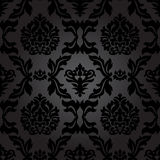 Seamless Pattern Background.Damask Wallpaper. Royalty Free Stock Image